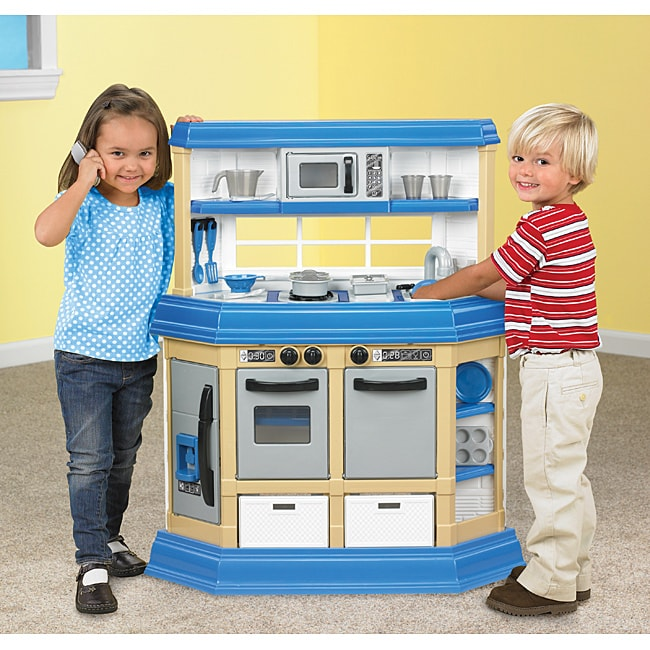 Buy American Plastic Toys - American Plastic Toys KM Custom Kitchen Play Set (Custome Kitchen KM)