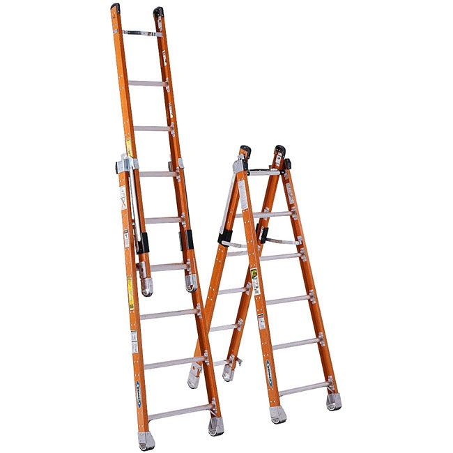 Werner 72-inch Combination Step and Extension Ladder