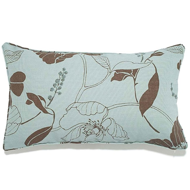 Poppy Spa 12x20-inch Outdoor Pillow