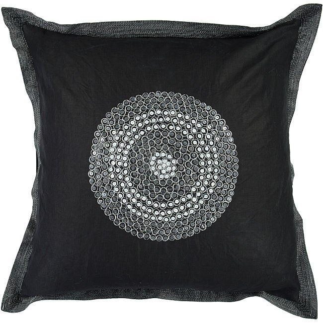Sharp 18-inch Square Poly Decorative Pillow