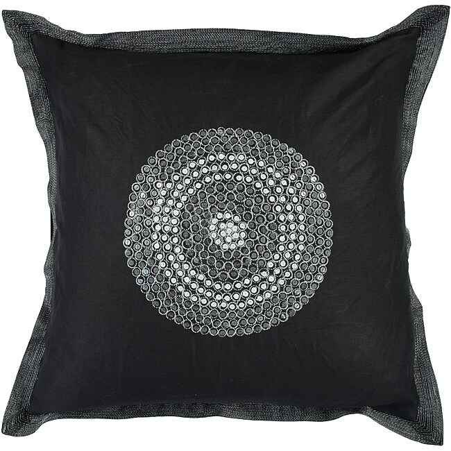 Sharp 18-inch Square Down Decorative Pillow