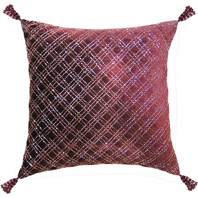 Jovi Ella Tasseled Decorative Pillow