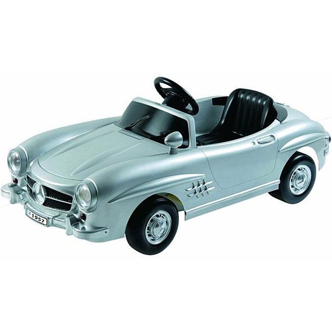 Kalee Mercedes Benz 300Sl Silver Ride on Car