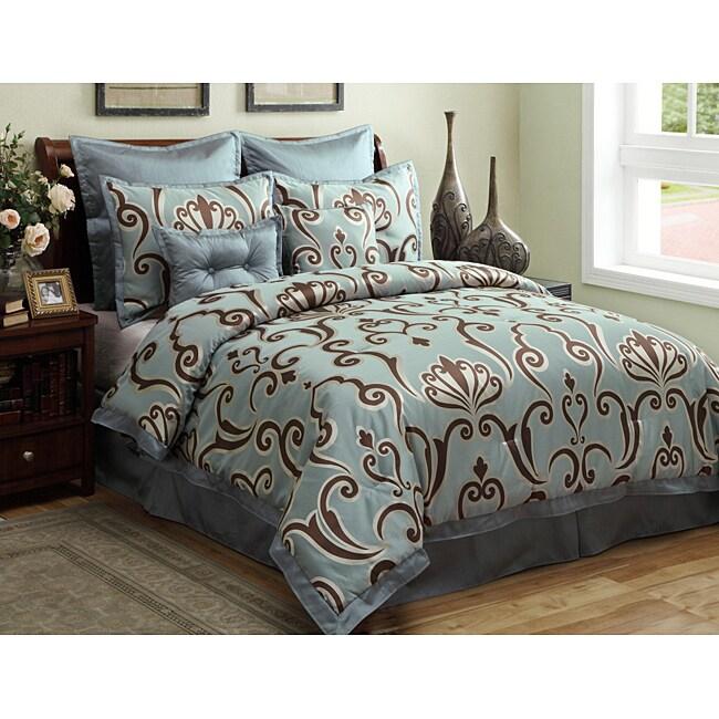 Largo 8-pieec Full-size Comforter Set