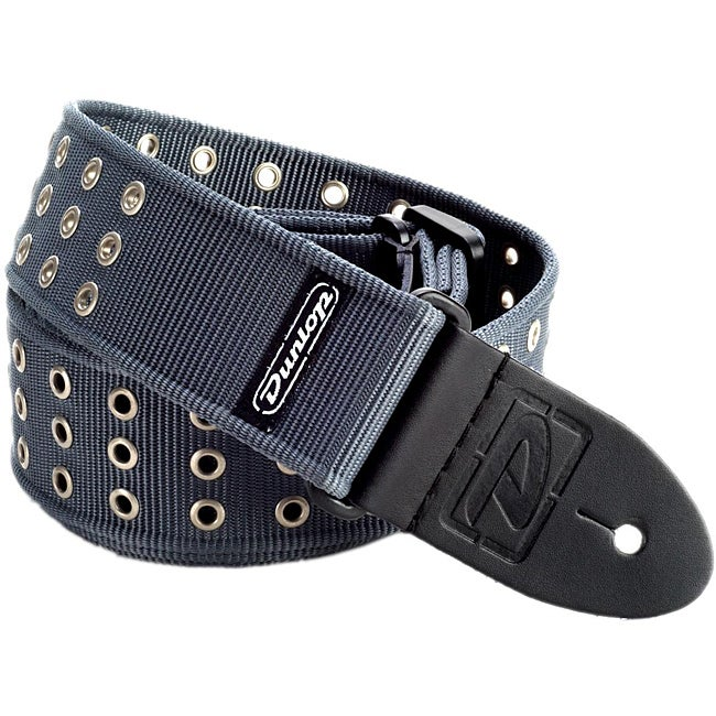 Dunlop D38 Grey Grommet Nylon Strap