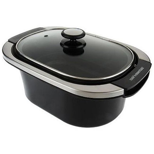 Cook's Essentials Multi-Cooker with Removable Steam Basket (Refurbished)
