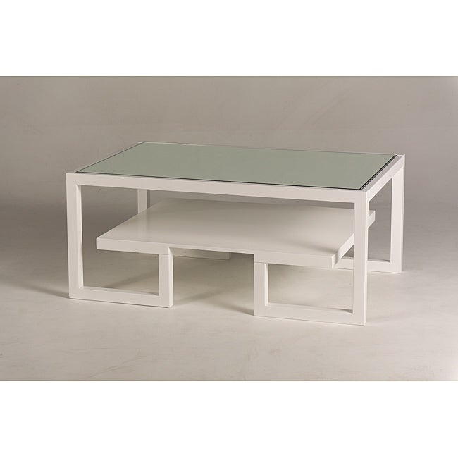 Jade Mirror-Top Coffee Table