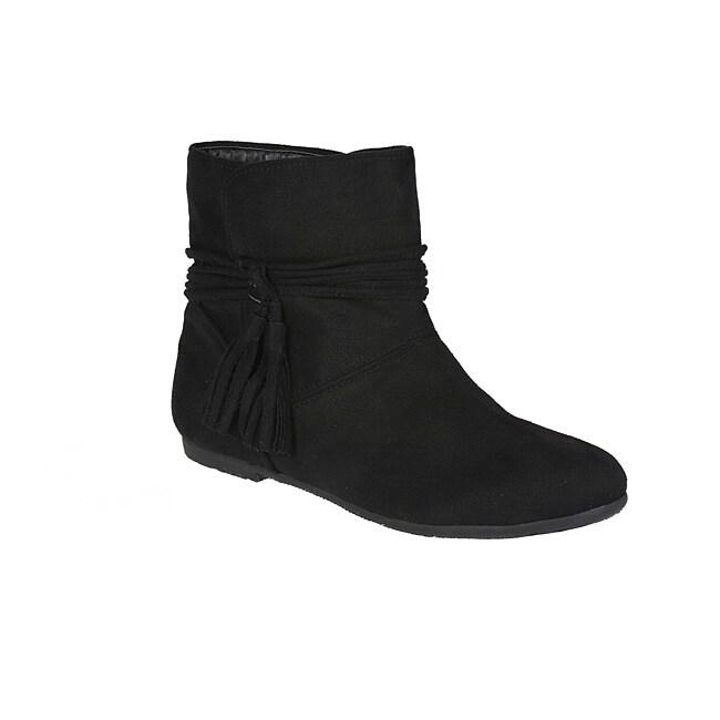 Story Black 'Parker-4' Black Ankle Boots