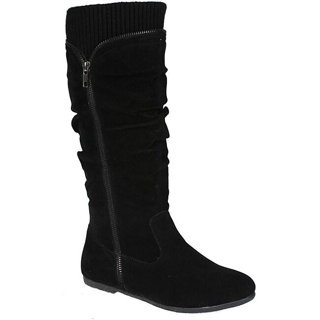 Story Women's 'Parker-2' Flat Bottom Mid-calf Boots