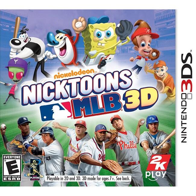 Nin3DS - Nicktoons Mlb 3D