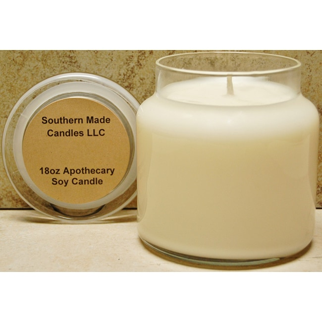 Southern Made Candles Ivory 18-oz Apothecary Soy Candle