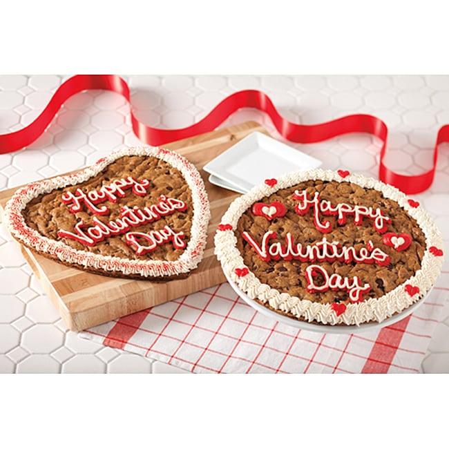 Mrs. Fields Heart Shaped Valentine's Cookie Cake