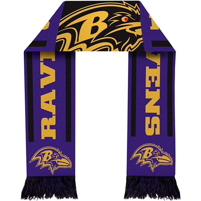 Baltimore Ravens NFL Acrylic Scarf