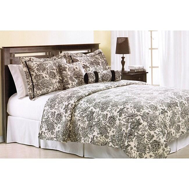Marinette Cotton 5-Piece Quilt Set