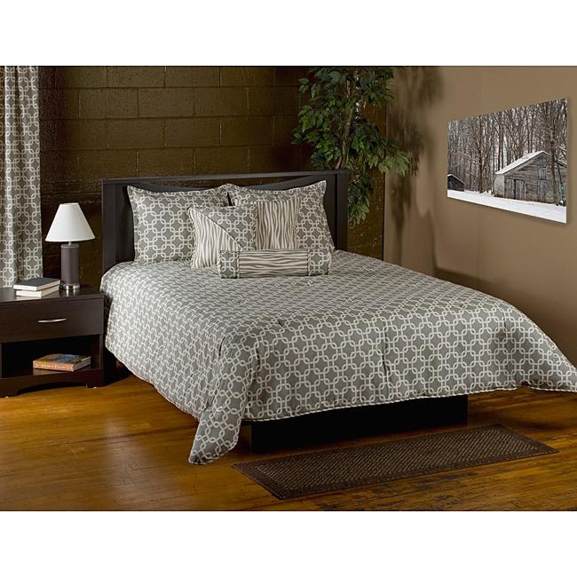 Nordic Grey 6-piece King Comforter Set