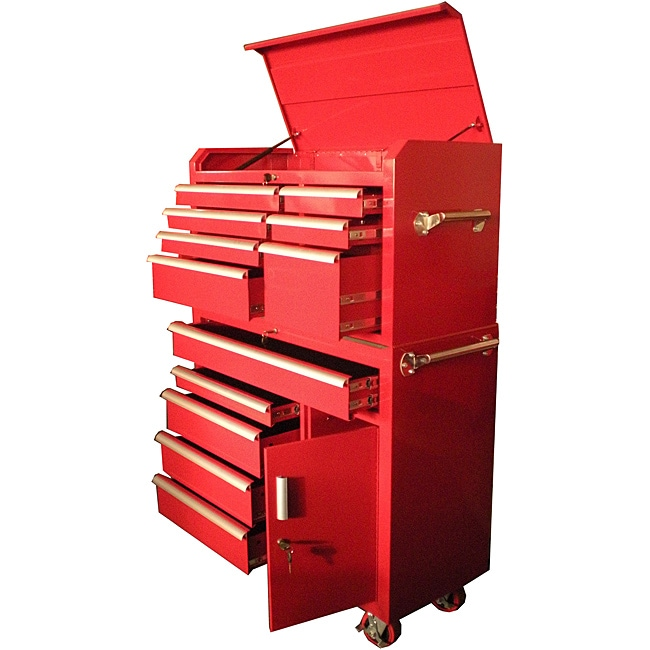 Excel 41-Inch Top Chest and Roller Cabinet Combination