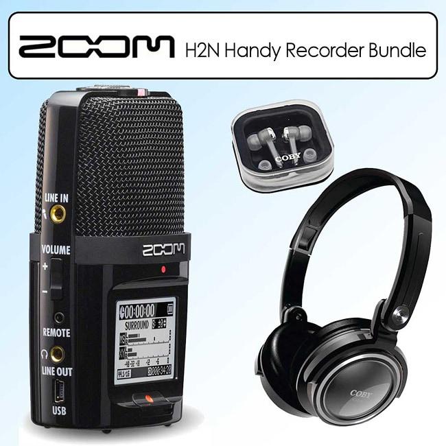 Zoom H2N Handy Recorder Digital Recording Kit