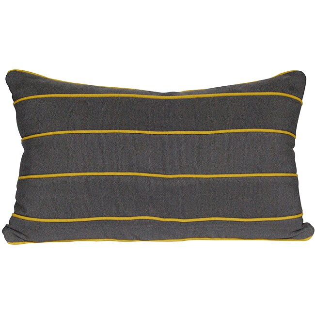 Grey Rectangular Pillow (Guatemala)