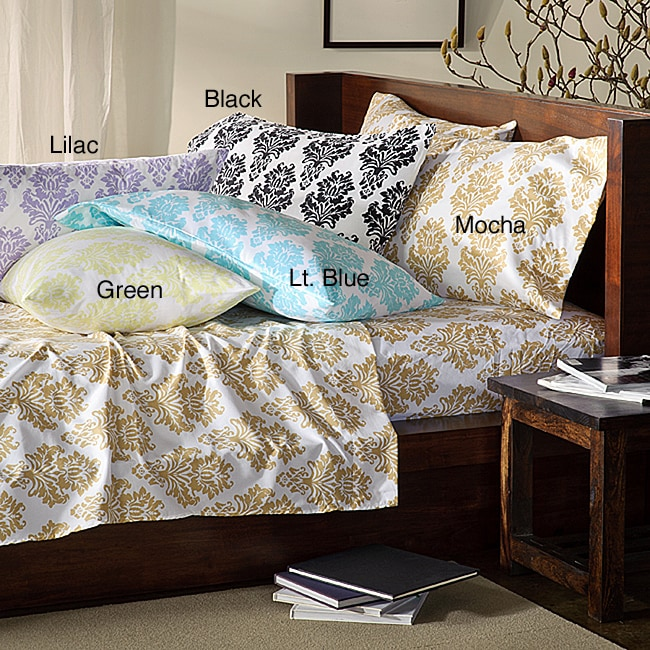 Somerset Printed Full-size Microfiber Sheet Set