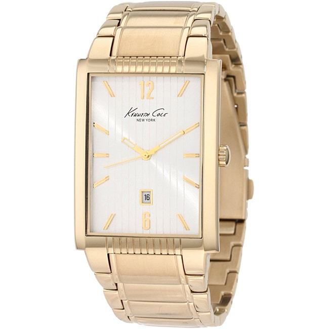 Kenneth Cole Men's 'New York' Goldtone Watch