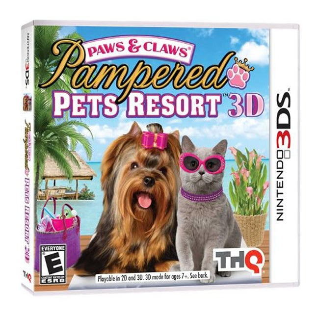 Nin 3DS - Paws & Claws Pampered Pets Resort