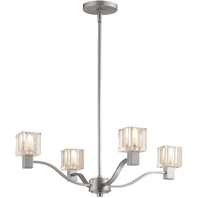 Access Astor 4-light Satin Finish Chandelier