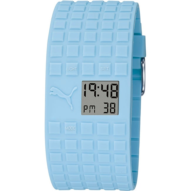 Puma Unisex Blue Cell Strap Watch