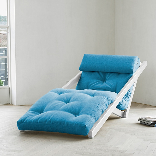 Fresh Futon Figo Horizon Blue at Sears.com