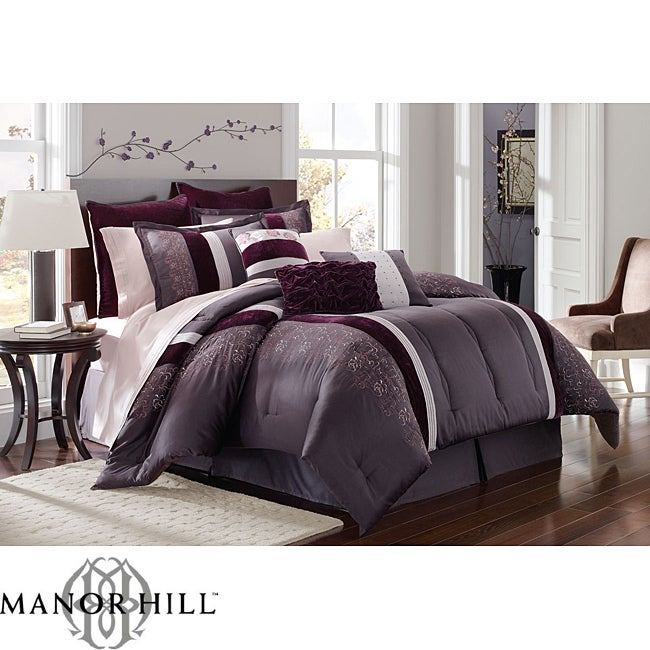 Manor Hill 'Daniela' 8-Piece King-size Bed in a Bag with Sheet Set
