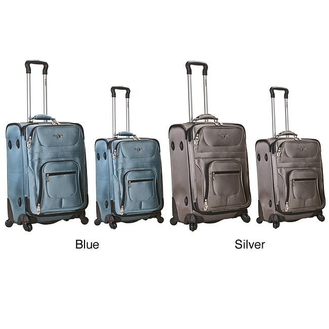 Rockland 2-piece Carry-on Spinner Luggage Set