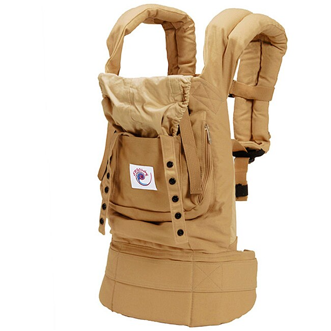 ERGObaby Baby Carrier in Solid Camel