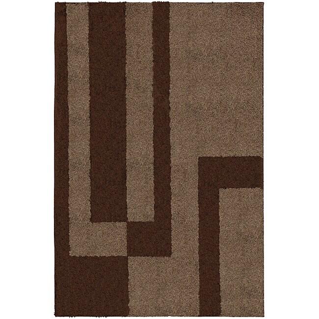Prism Mink Brown Rug (8' x 10')