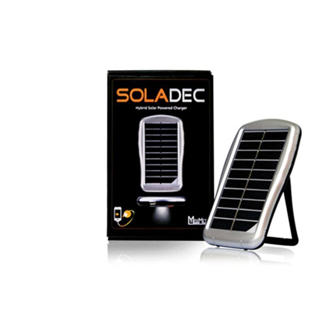 Soladec Portable Hybrid Solar Powered Charger