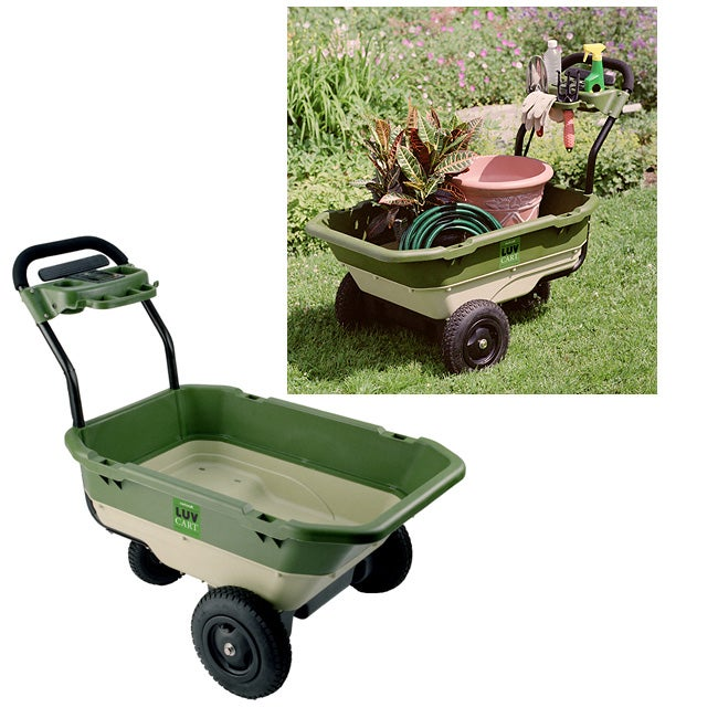 Luvcart Motorized Garden Cart Overstock Shopping Great Deals On Carts Wheelbarrows