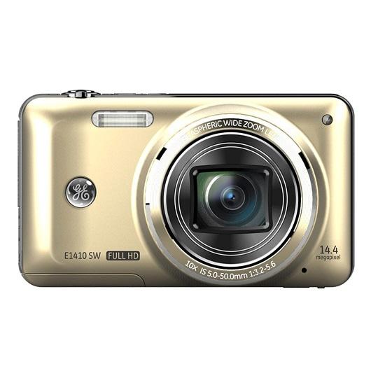 GE E1410SW 14MP Gold Digital Camera