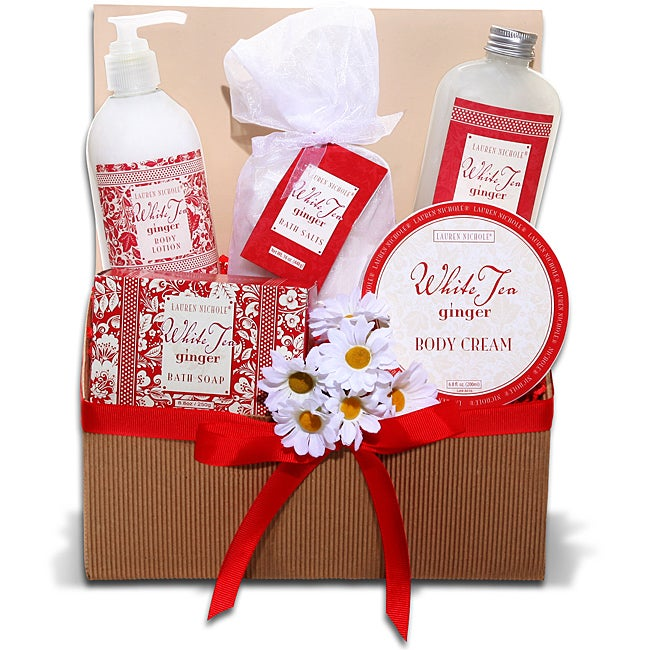 Lauren Nichole White Tea and Ginger Spa Tray