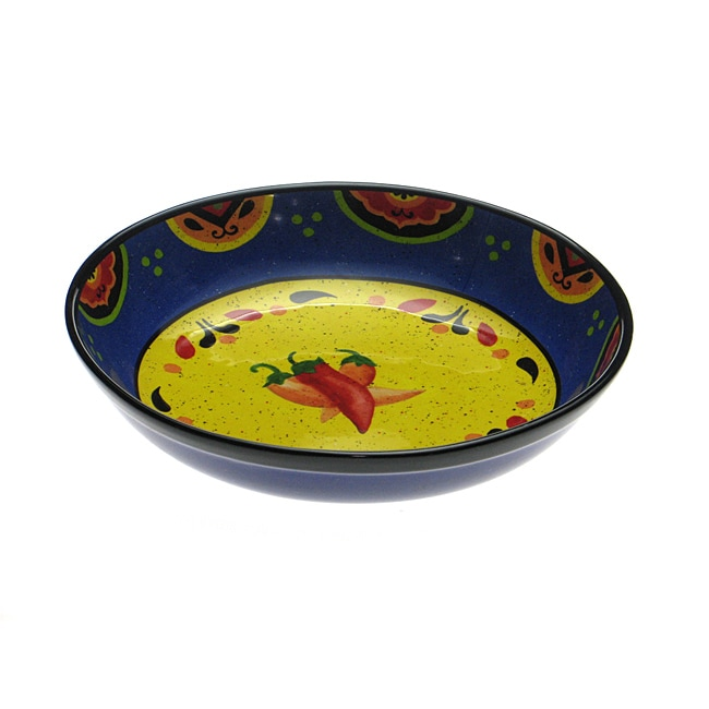 Certified International Hot and Saucy Pasta Serving Bowl