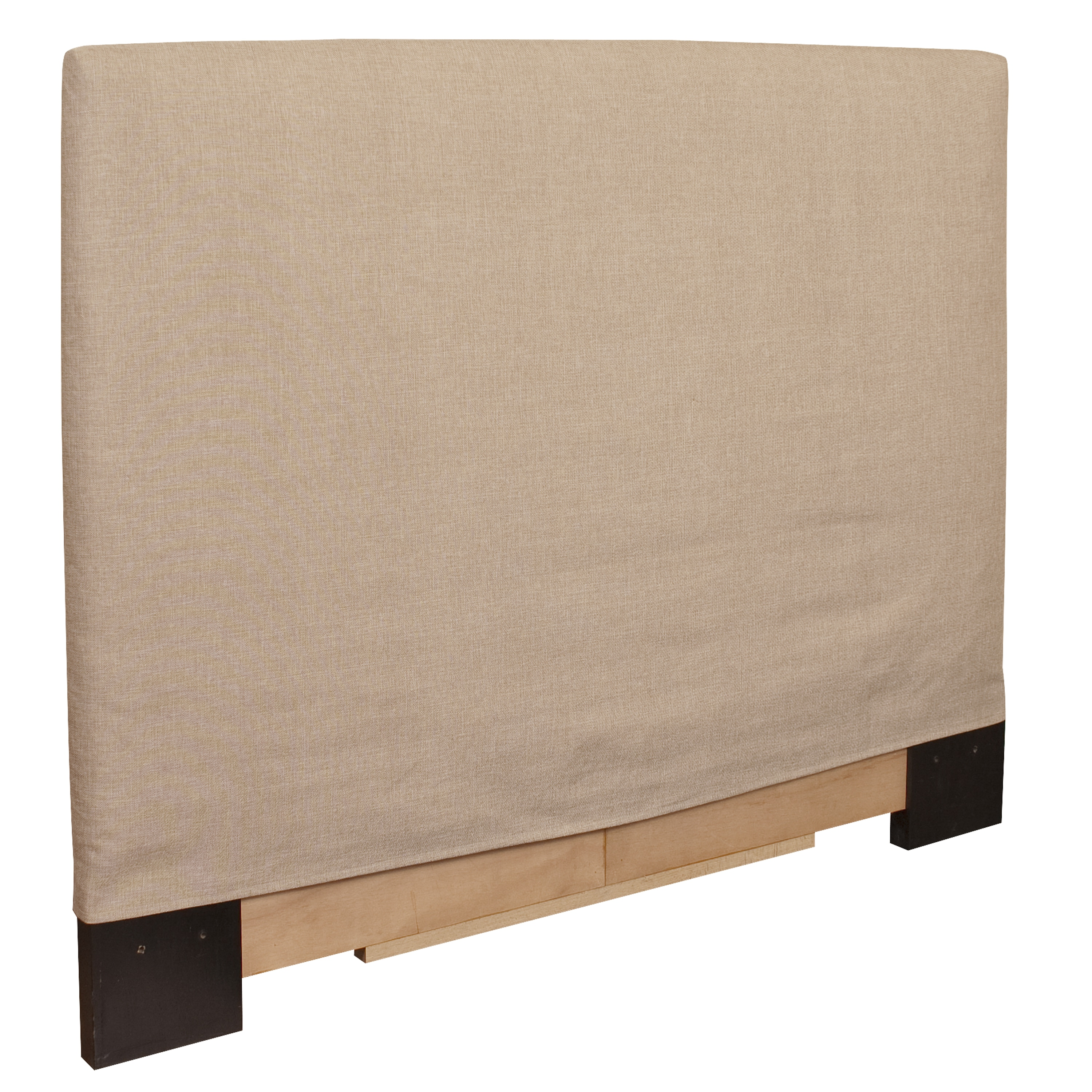 King-size Sand Slip Covered Headboard