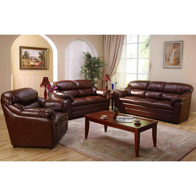 Mayatoba Brown Sofa Set