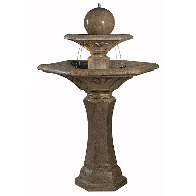 Triton Outdoor Floor Fountain