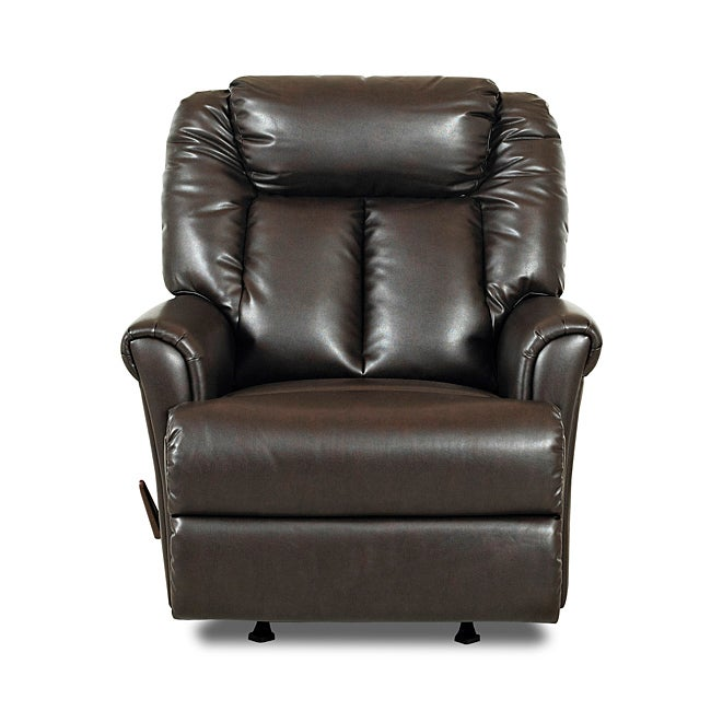 Garry Braxton Chocolate Brown Rocker Recliner Chair
