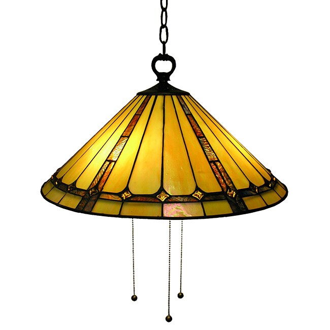 Warehouse of Tiffany Classic Hanging Lamp
