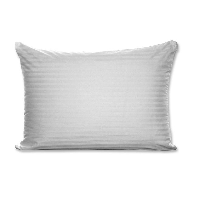 Sateen Stripe Cotton King-size Pillow Protector (Set of 6)