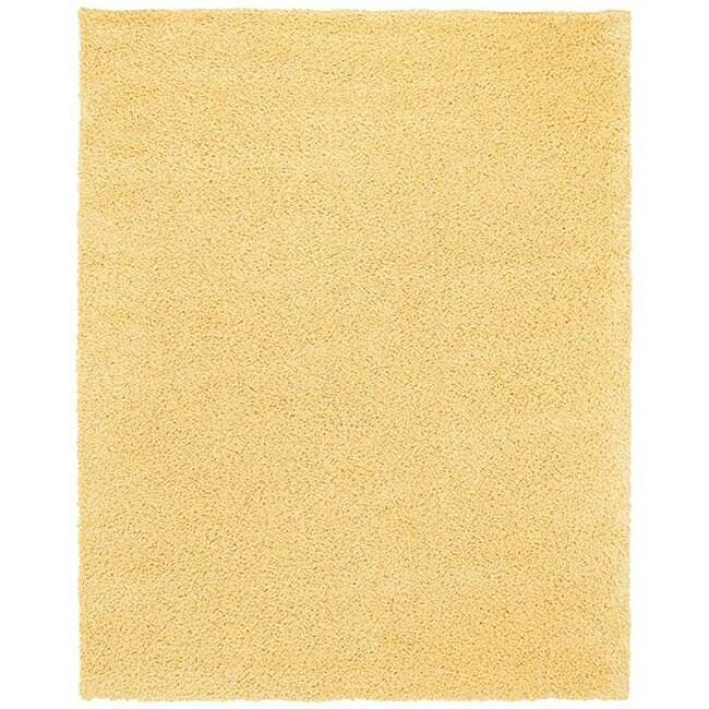 Ultra Shag Daisy Yellow Rug (5' x 8')