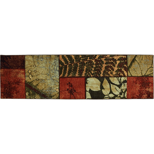 Mohawk Home Natures Moments Multi Botanical Rug (2' x 8')