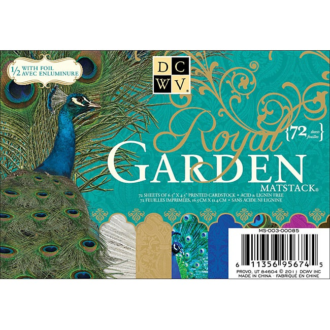 Royal Garden Mat Stack (Pack of 72)