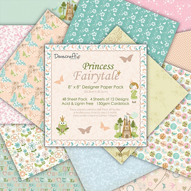Princess Fairytale Designer Paper Pack