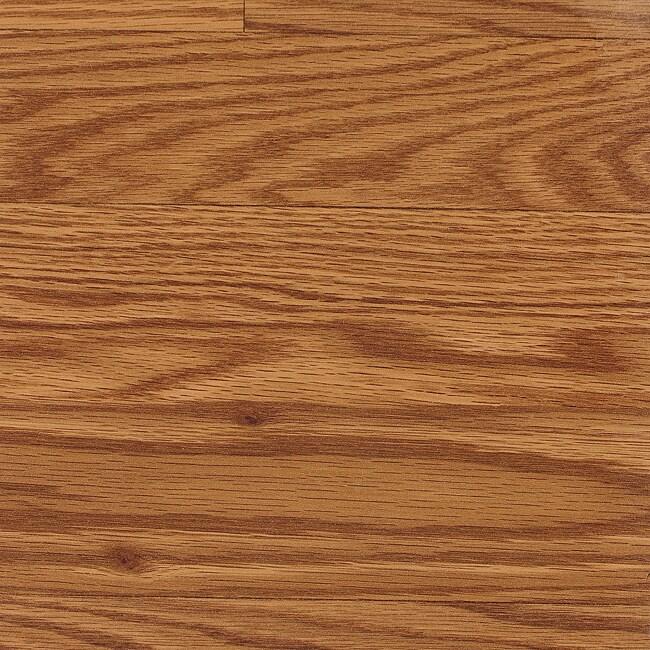 Easy Install 8mm 3-Strip Gunstock Oak Laminate Flooring (137.43 SF)