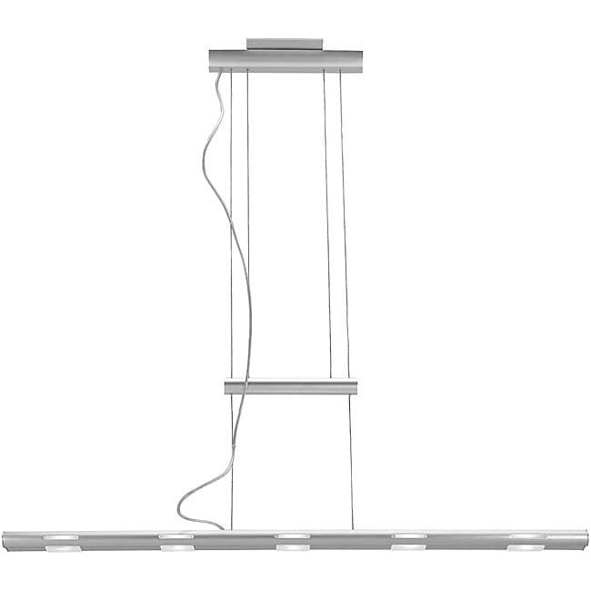 Access Magna Cable 5-light Silver Aluminum Pendant