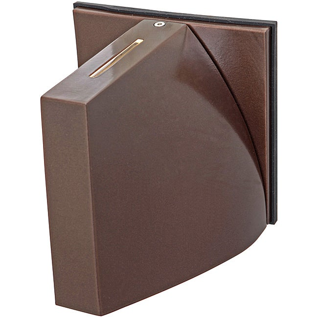 Caso Wet Location Bronze Finish Wall Fixture
